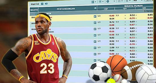 Pasang taruhan judi online sports sbobet